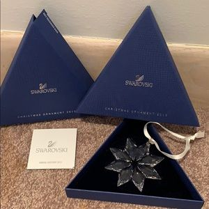 Swarovski Star tree ornament